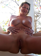 Hot gallery of sexy MILF asses and shaved cunts