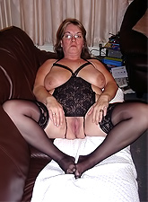 This yummy mommy has hungry hairy pussy and she's ready to get drilled
