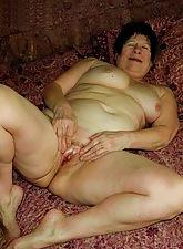 Homemade granny porn
